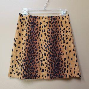 Cache Alberto Makali sport animal print mini skirt